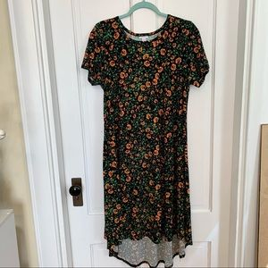 Lularoe Carly dress women's size medium GUC